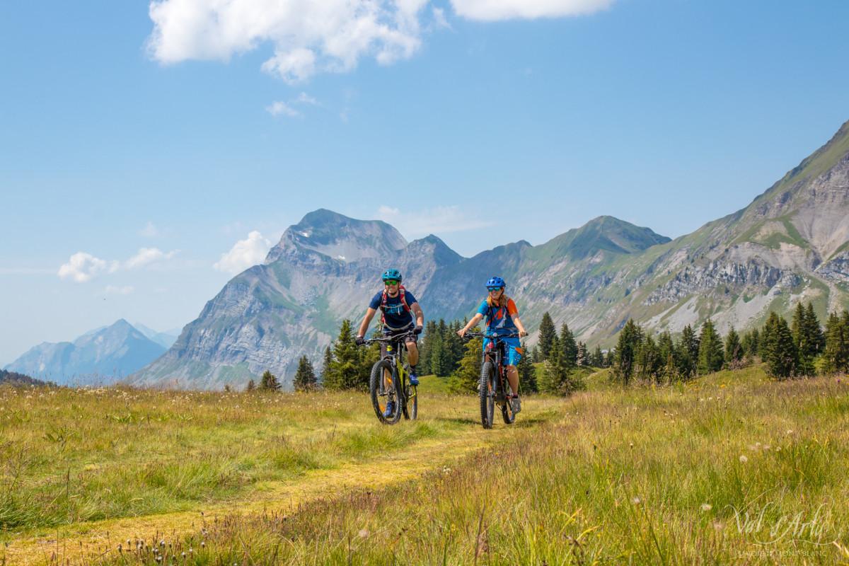Rando e-bike tour du Val d'Arly
